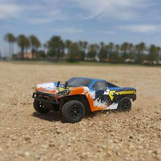 ECX Torment 1:24 4wd Short Course Truck:Blk/Orange RTR - In Stock Now!