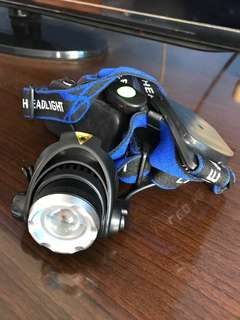 Zoomable headlamp LED