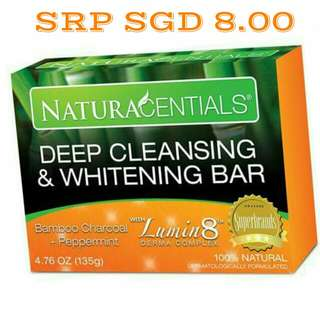 NaturaCentials ( Deep Cleansing & Whitening Bar)