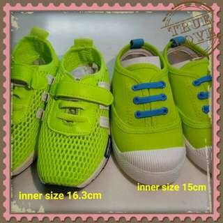 Kids children Shoes (2 in 1set) - COD