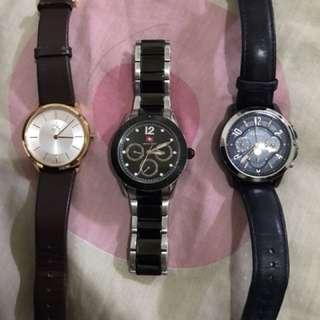 Jam tangan kulit dll