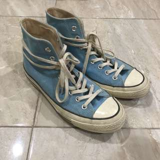 Converse 70s baby blue