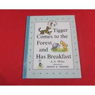 Tigger Comes To The Forest and Has Breakfast