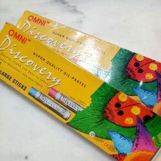OMNI super quality oil pastel 24 colours Large sticks (2 for price of 1)