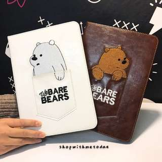 We Bare Bears Ipad Air2/ Mini 4/ IPad 9.7/ Pro 10.5 casing