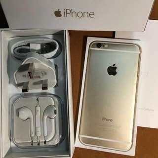 iphone6 Gold 16gb Good Condition 100%Working Perfect