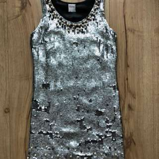 RED Valentino mini sequin dress