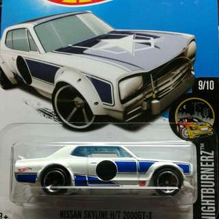 Hotwheels Hako Night Burners
