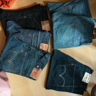 Levis牛仔褲(6條)