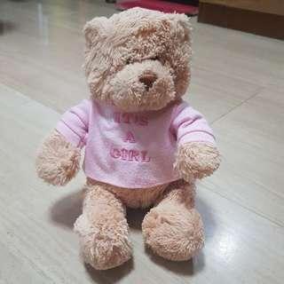 Teddy Bear it's a girl
