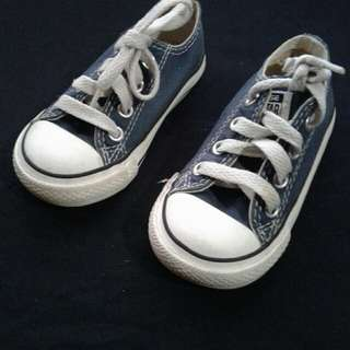 Converse all star blue unisex size us 5