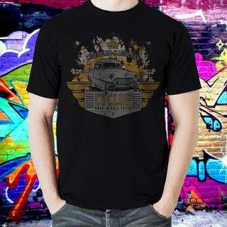 Kaos Distro Legendary Clasic Car T-Shirt Cotton Bamboo Premium