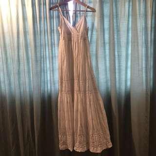 Promod white Long dress