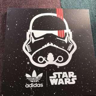 Adidas x Starwars canvas poster