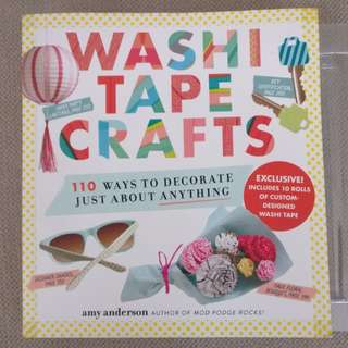 Washi tape crafts - 110 ways to decorate anything