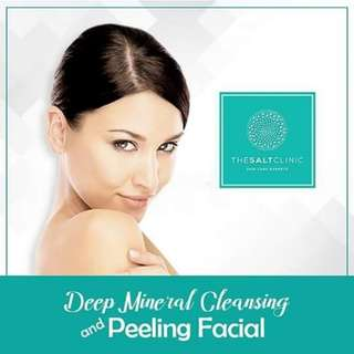 Deep Mineral Cleansing and Peeling Facial