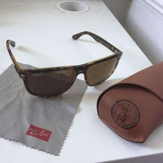 Mens Rayban Sunglasses - Tortoise Shell Brown