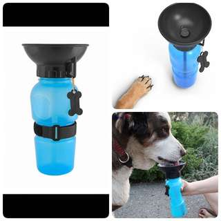 Pet drinking cup or water feeder