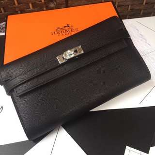 Hermes Kelly Wallet Epsom Leather