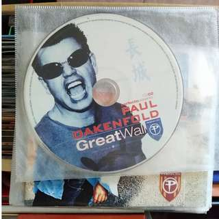 Paul Oakenfold no front and back covers
