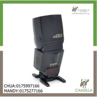 USED CANON 430EX SPEEDLIGHT