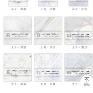 Super cute marble sticky notes
