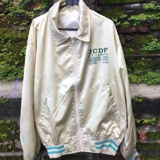 Golden Varsity Jacket