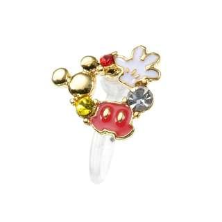 Japan Disneystore Disney Store Mickey Mouse Wreath Petit Jewelry Earrings (for one ear)