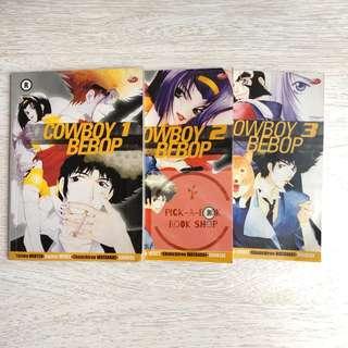 Komik Cowboy Bebop (1-3 end) - Yutaka Nanten - Hajime Yatate
