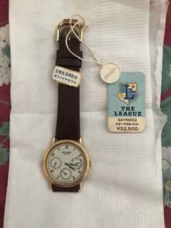 Brand New Antique SEIKO The League Chronographic Timepiece