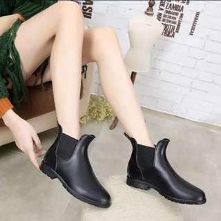 Size 35-40 Ankle Length Rain Boots