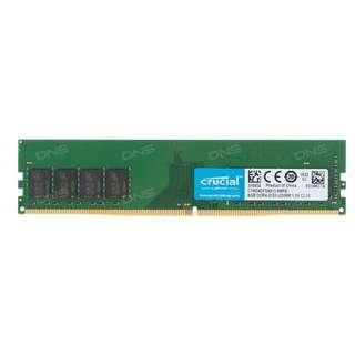 [USED] Crucial 8 x 2 (16GB) 2133 mhz * Desktop RAM