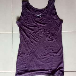 Preloved Violet Tank Top