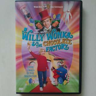 Roald Dahl Willy Wonka and the chocolate factory dvd