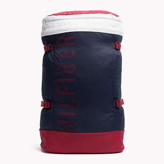 TOMMY HILFIGER  可摺背囊BACKPACK  bag 背包 袋 TRAVEL 旅行