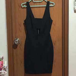 TOPSHOP Sexy Black Dress