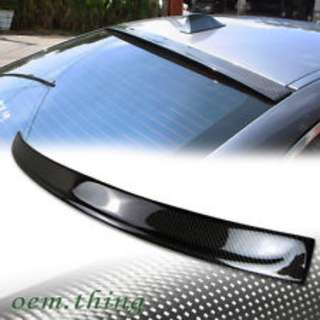 Bmw f10 3D style carbon roof spoiler