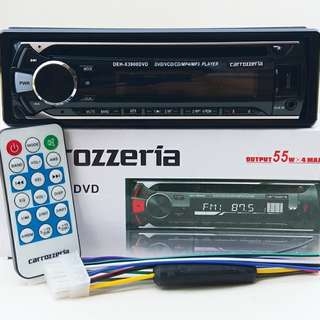 CARROZZERIA DVD FRONT USB PLAYER