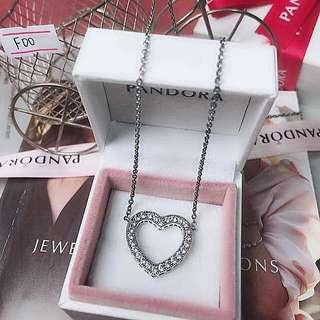 Pandora inspired necklace. 100% silver