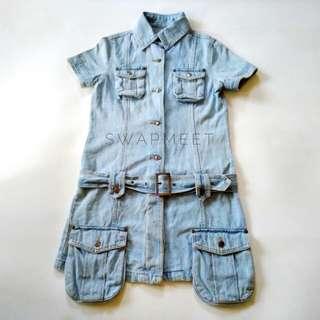 Denim Washed Pocket