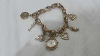 Anne Klein charms bracelet watch