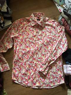 Authentic Paul Smith London floral Men's longsleeves