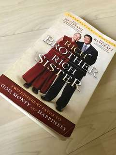 Rich Brother Rich Sister - Robert kiyosaki