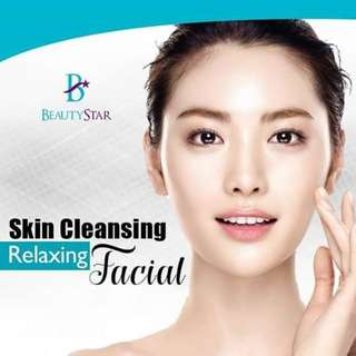 Skin Cleansing Relaxing Facial