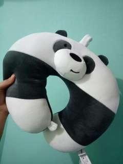 We Bare Bears neck pillow