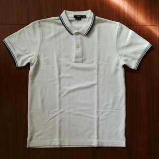 Bossini White Polo