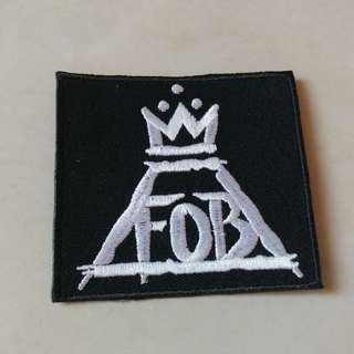 Fall Out Boy - Logo Woven Patch Band Merch