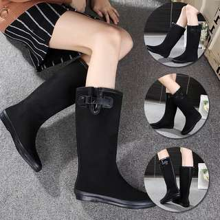 Size 36-41 Velvet Waterproof Rain Boots