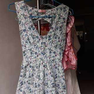 Floral Dress From Japan