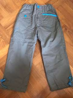 Boys warm lined pants